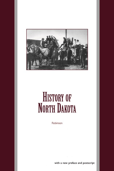 History of North Dakota Cover